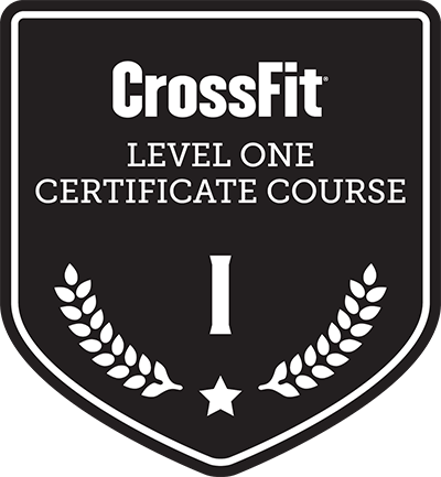 CrossFit Level 1 Certificate Course badge