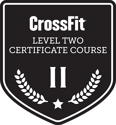 CrossFit Level 2 Certificate Course badge