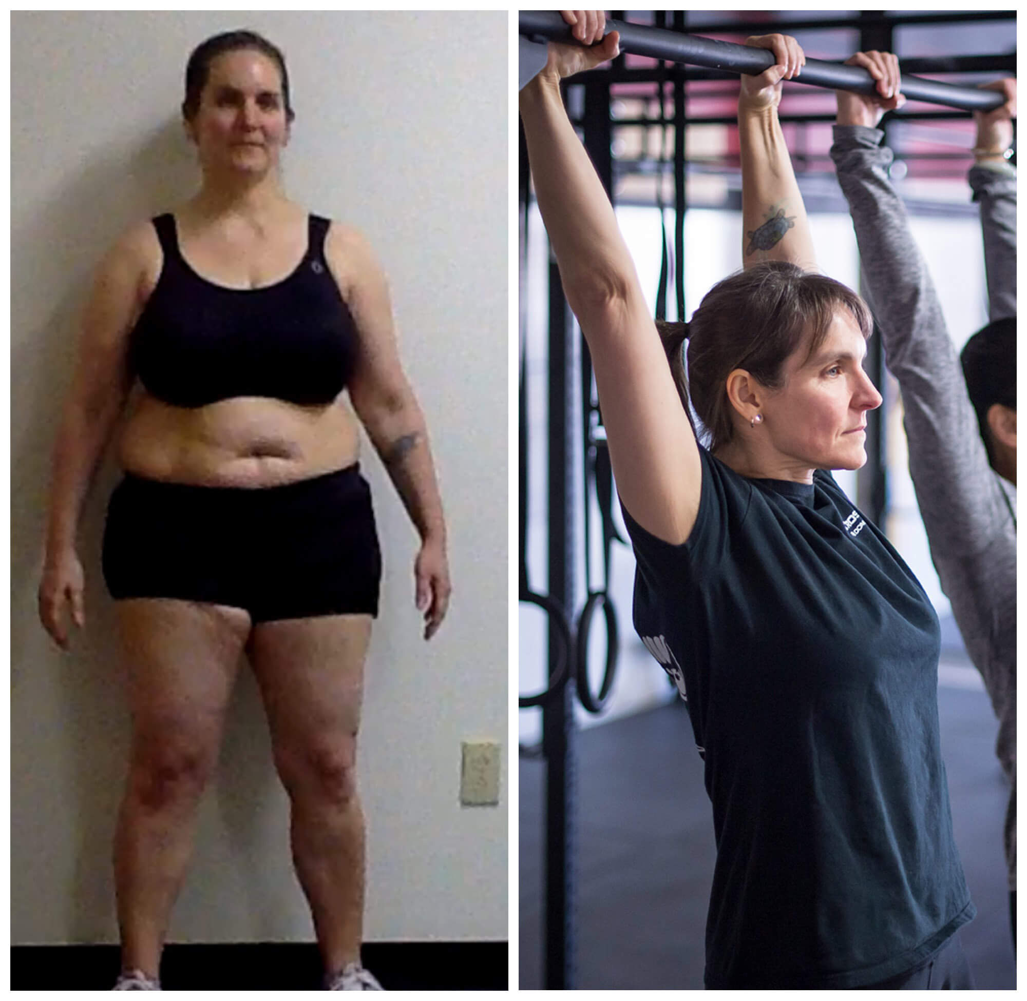 Heather Beery before-after CrossFit