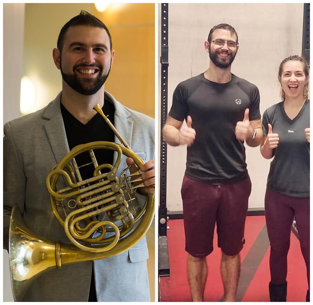 CrossFit Bloomington - Testimonials - Olivier Huebscher before-after